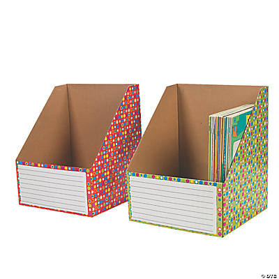 Color Dots Wide Book Holders