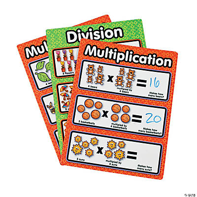12 Fun Dry Erase Multiplication/Division Sheets
