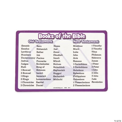 """""""Books of the Bible"""" Magnets"""
