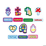 Religious Sacraments Bulletin Board Cutouts