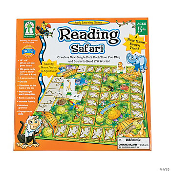 "Carson-Dellosa ""Reading Safari"" Game"