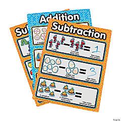 Fun Dry Erase Addition/Subtraction Sheets