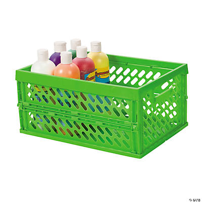 Green Foldable Storage Crate