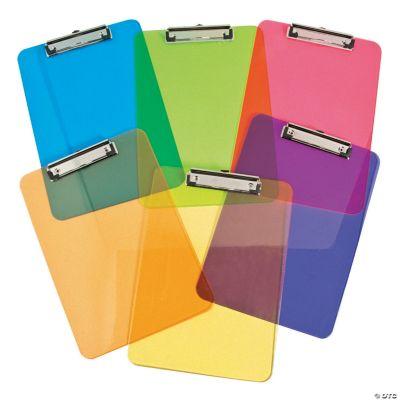 Rainbow Clipboards