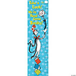 Dr. Seuss Cat In the Hat™ Reading Goal Setter Vertical Banner