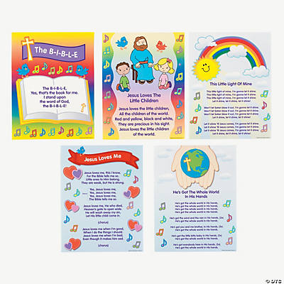 Bible Song Learning Charts