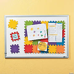 Magnetic Corkboard Puzzle Pieces