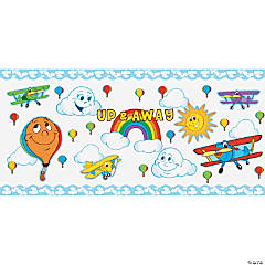 Up & Away Bulletin Board Set
