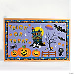 141 Pc. Halloween Bulletin Board Set