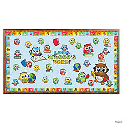 Welcome Back Owl Bulletin Board Set
