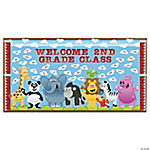 Welcome Zoo Bulletin Board Set