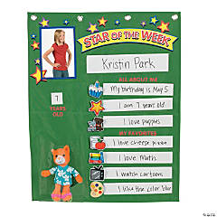 Student of the Week Pocket Chart