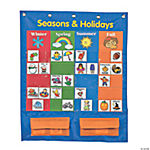 Seasons And Holidays Pocket Chart