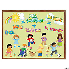 Happy Student Mini Bulletin Board Set