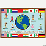 225 Pc. Multicultural Bulletin Board Set