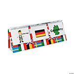 6 Pc. Multicultural Flip Chart Set