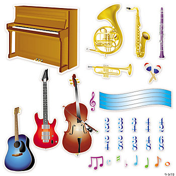 Music Bulletin Board Cutouts