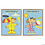 56 Pc. Dress Me Puppy Bulletin Board Cutouts