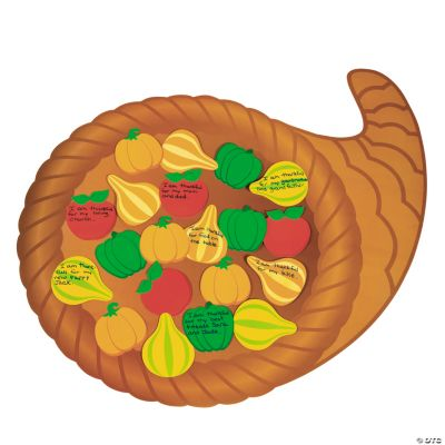 DIY Thankful Cornucopia Bulletin Board Set