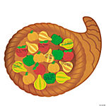 Thankful Cornucopia Cutout