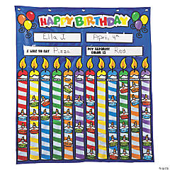 Birthday Pocket Chart