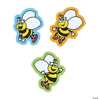 Small Bee Cutouts