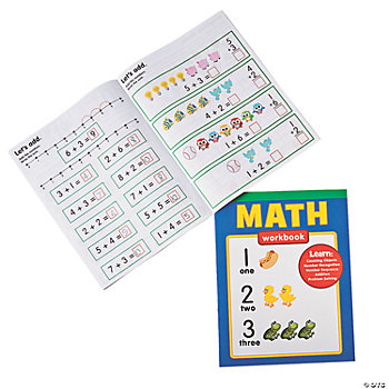 6 Math Workbooks