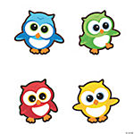 Small Owl Cutouts