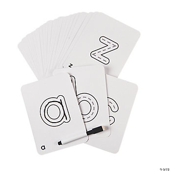 ABC Write & Wipe Cards