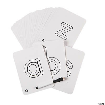 ABC Dry Erase Cards