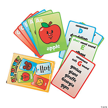 33 Alphabet Letter Sounds Cards