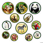12 Wildlife Bulletin Board Cutouts