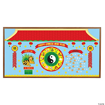 198 Pc. Chinese New Year Bulletin Board