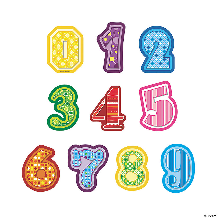 Jumbo Number Cutouts