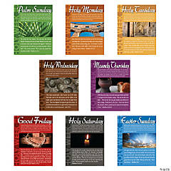 Holy Week Learning Posters
