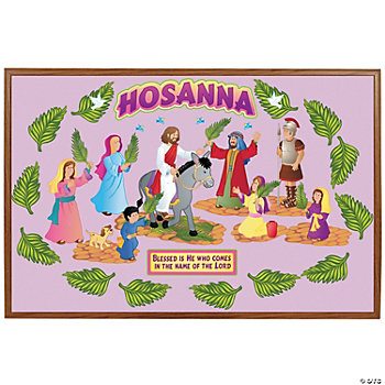 """Hosanna"" Bulletin Board Cutouts"