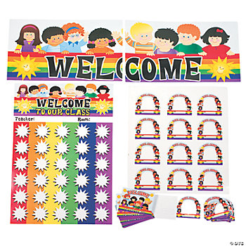 "76 Pc. ""Welcome Back"" Classroom Kit"