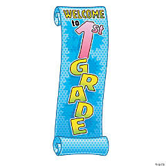 """Welcome To 1st Grade"" Banner"