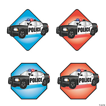 Police Car Cutouts