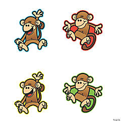 Monkey Cutouts