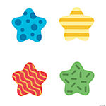Patterned Star Cutouts