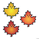 Fall Leaves Bulletin Board Cutouts