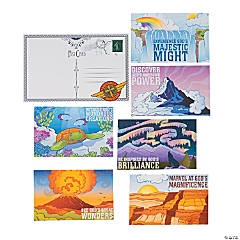 Awesome Adventure Postcard Bulletin Board Cutouts