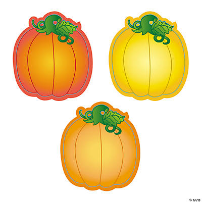 Pumpkin Bulletin Board Cutouts
