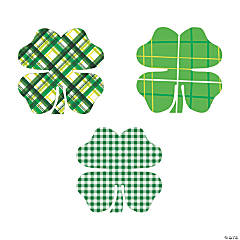Shamrock Bulletin Board Cutouts