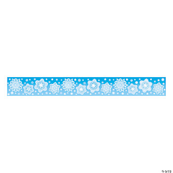 15 Pc. Snowflake Border