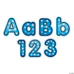 Bubbles Bulletin Board  Letters & Numbers