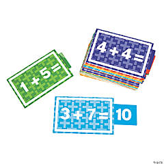 25 Math Slider Cards