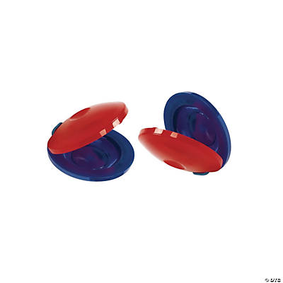 12 Plastic Castanets