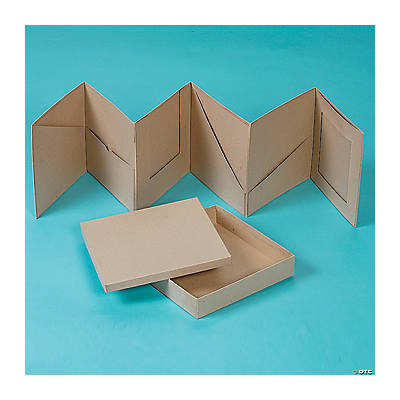 "Boxed Accordion Pocket Album - 8"" x 8"""